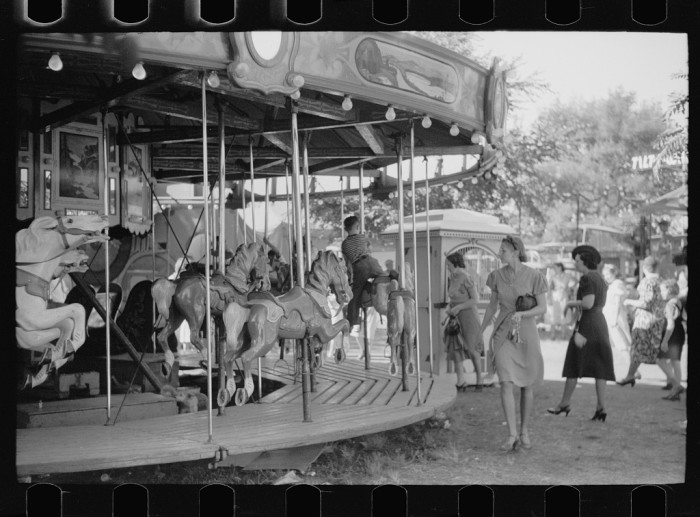 3. A yearly carnival or county fair, like this one in Marshalltown.