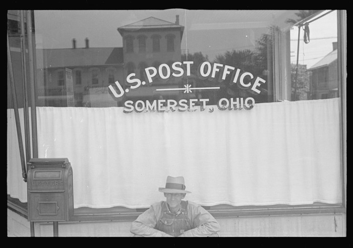 14. Post office in Sommerset, Ohio