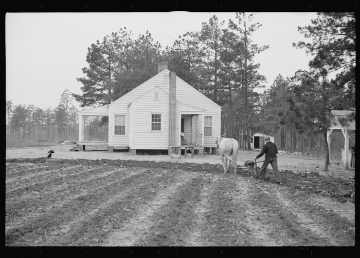 4. Resettlement homestead near Eatonton, Georgia. Briar Patch Project - March 1936