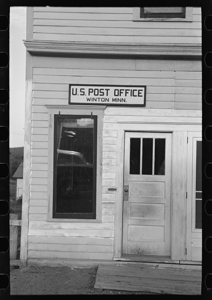 8. A post office.