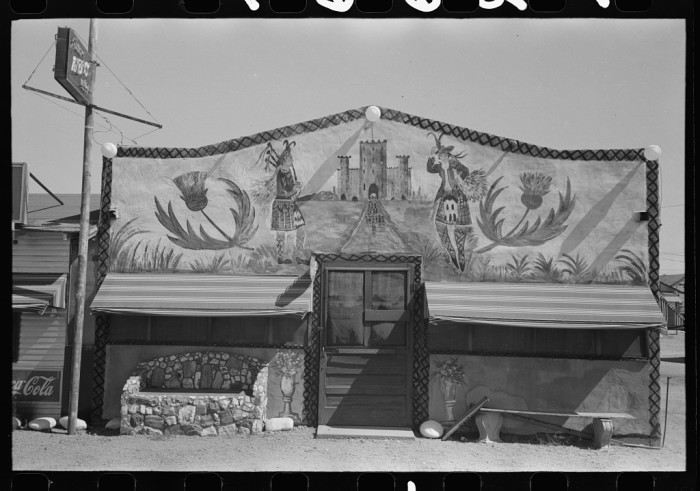 3. Here's an example of a bar from the outside. This was located somewhere in Maricopa County.