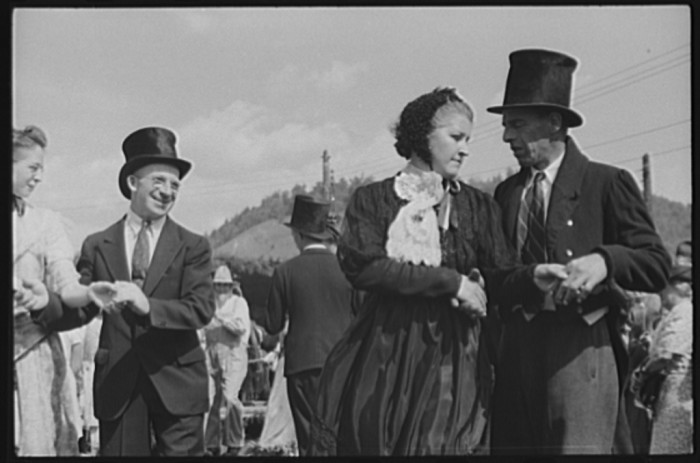"25.  Old fashioned dances at the ""World's Fair"" in Tunbridge."