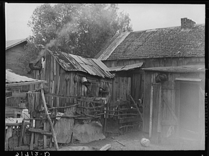 3. Back kitchen, backyard of home in Norco, Louisiana