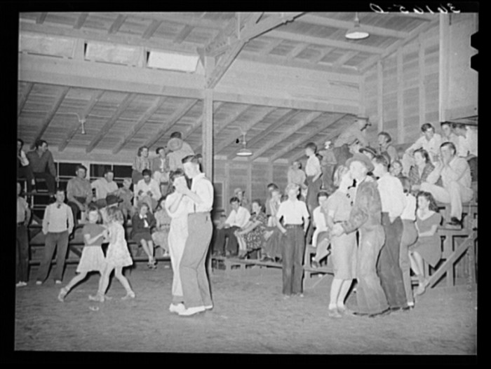20. The Saturday night dance at the local community center, church, or even dance hall was an event thing to look forward to in any small town.