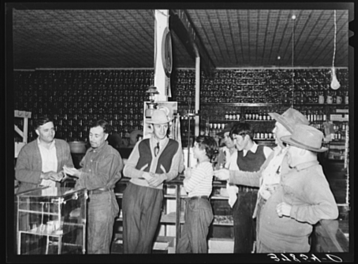 16. What did your typical general store look like? Usually, something like this.