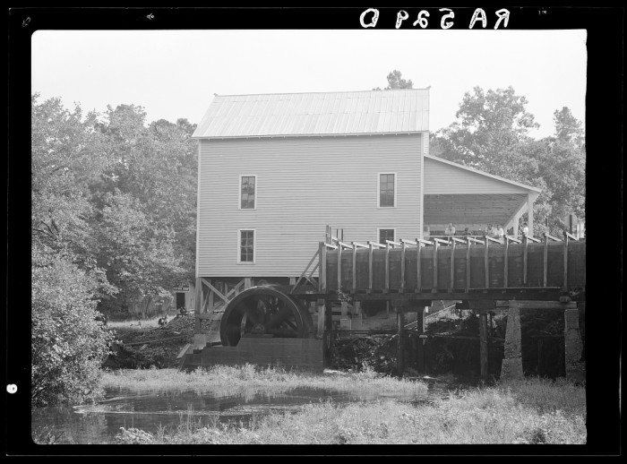 9. The mill.