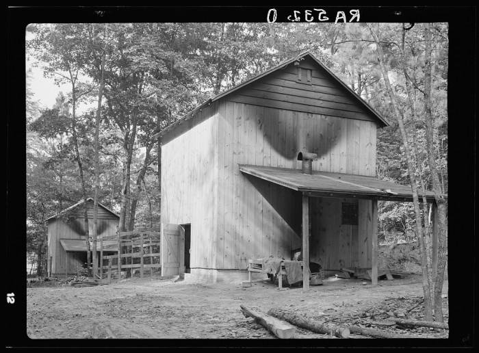 10. Brand new barn.