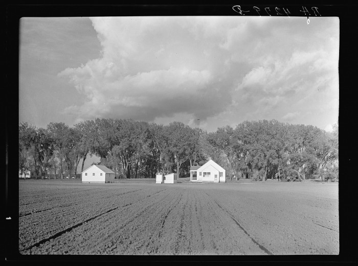 13. Many of the farmsteads in Douglas County were provided or purchased thanks to government aid - 1936.