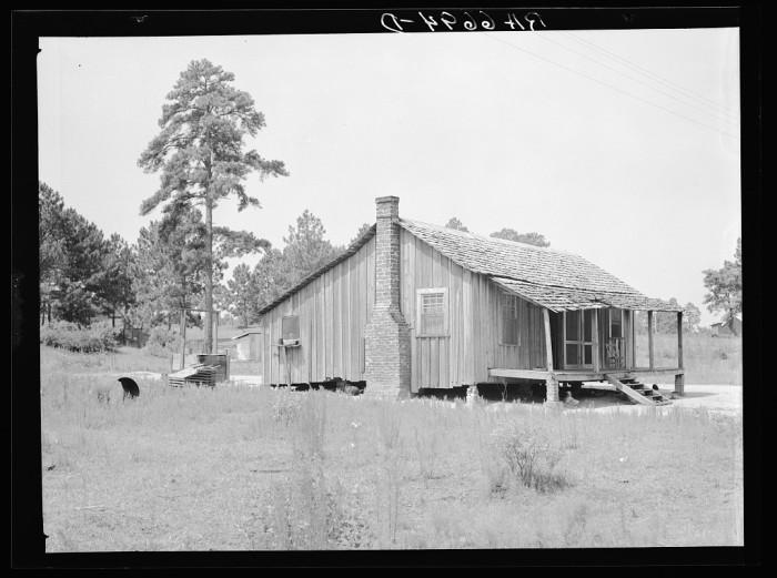 10. Shack in Irwinville, Georgia - June 1936