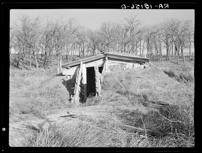 13. A man and his family lived in this house near Anthon for two years.
