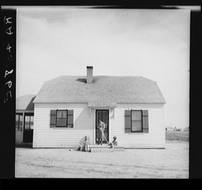 17. This modest farmstead in Loup City housed a family of farmers - 1936.