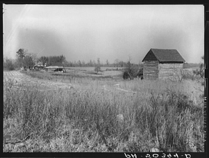 1. Tobacco and barns.