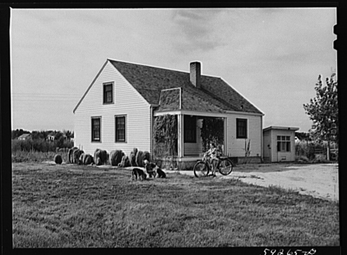 7. This family home in Scottsbluff was part of the FSA's housing project - 1941.