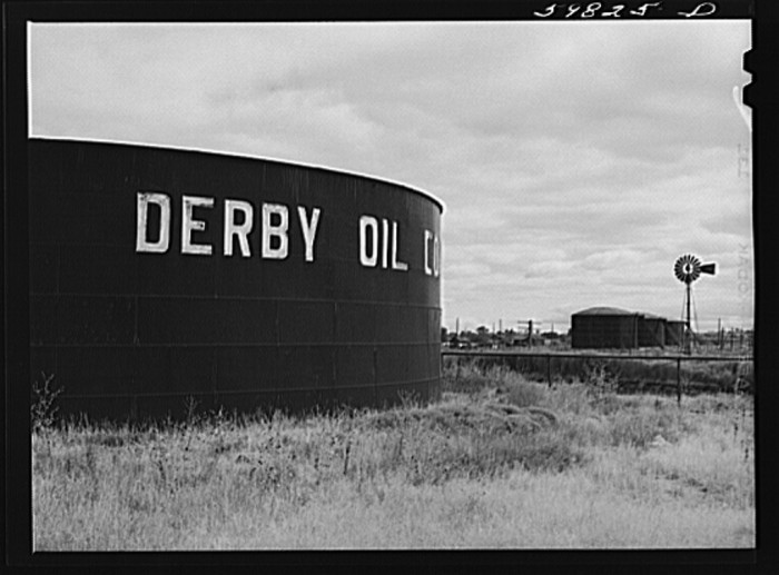 "3. ""Derby oil company refinery."""