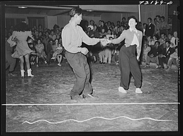 4. If you were a little older, community dances were something to look forward to on the weekends because it was one of your few chances to socialize.