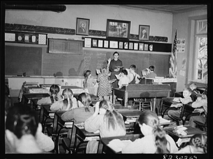 S One Room Schoolhouse