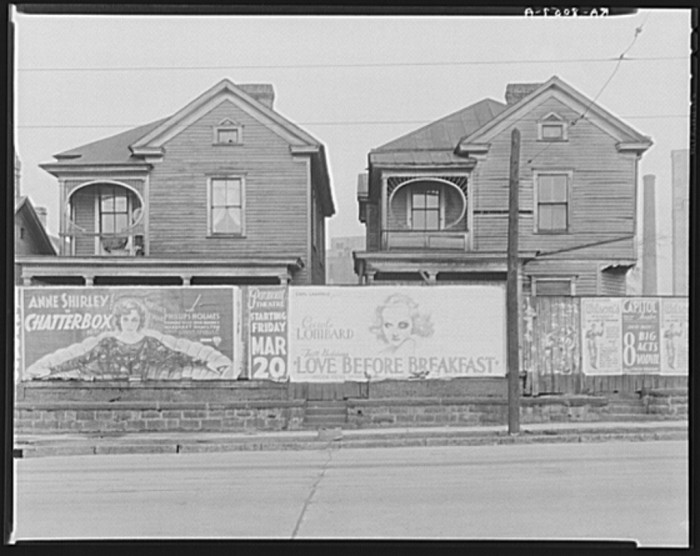 7. More houses in Atlanta, Georgia - March 1936