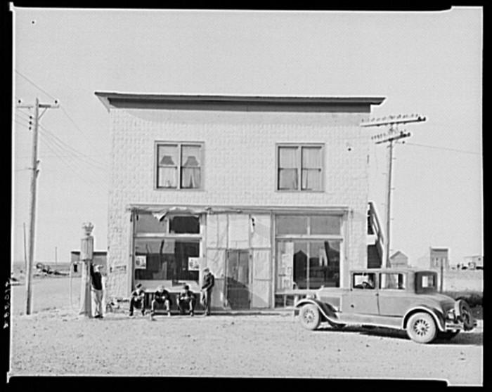 """10. """"General store. Rawson, McKenzie County, North Dakota"""""""