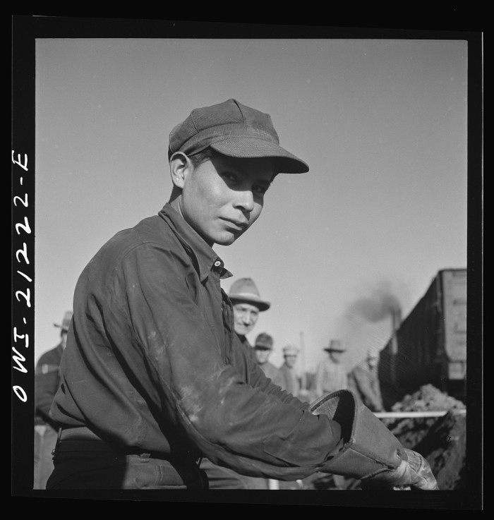 20. Just like this kid, who looks no older than 18, already working full-time in a railway yard in Winslow.