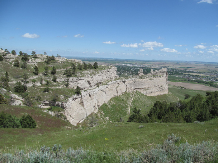 8. Scotts Bluff National Monument, near Gering