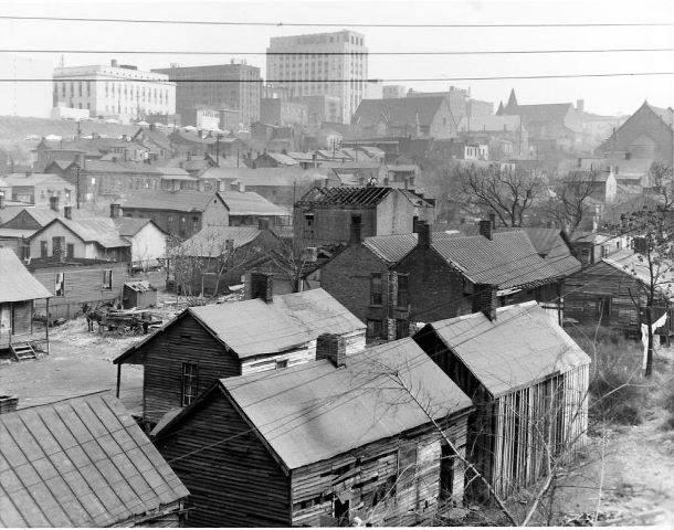 9. Nashville slums, circa 1958