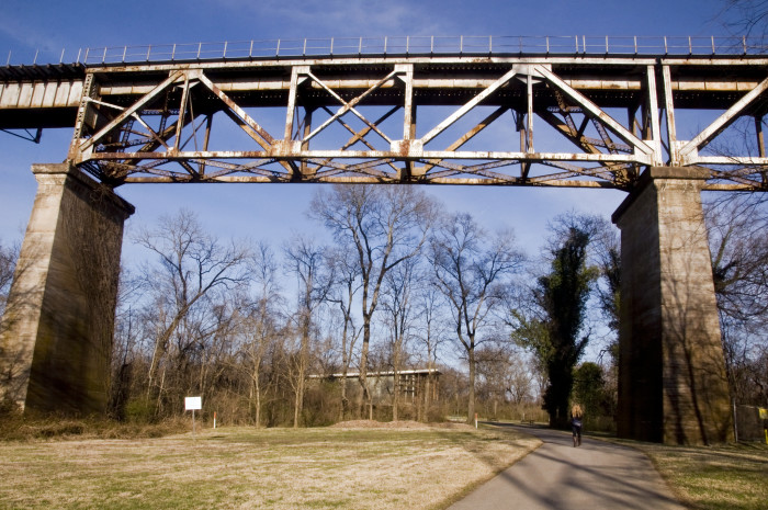 9) The Bridge at Shelby Bottoms