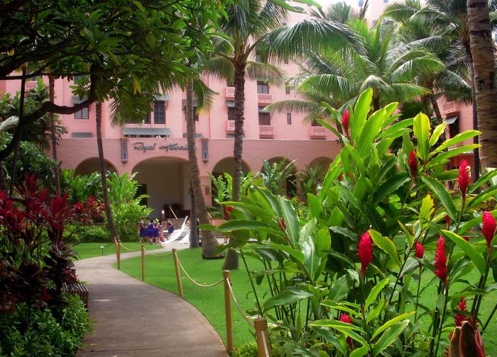 9) The Royal Hawaiian Hotel + Resort, Oahu