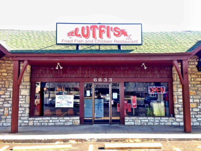 9.	Lutfi's Fried Fish, Raytown