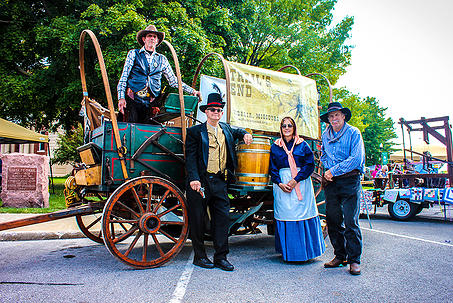 9.Santa Fe Trail Heritage Day, Downtown Square, Marshall