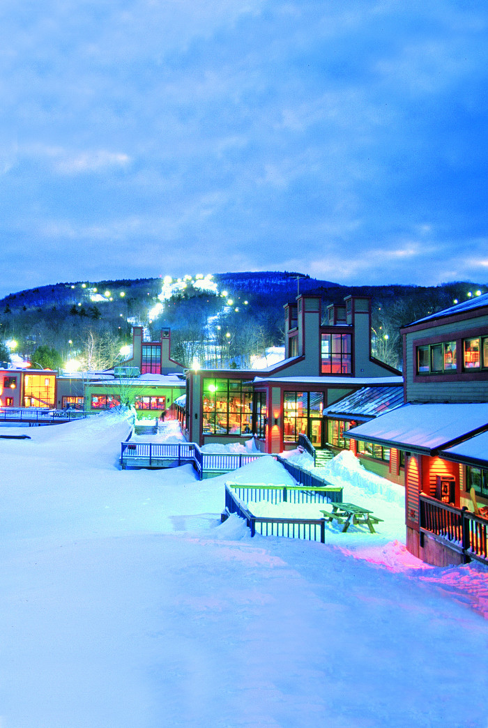 3. Go ride the slopes at Wachusett Mountain. Skiing should be a winter fun no-brainer, but this place in particular has some of the most magical views you'll find anywhere. With a 1,000-foot vertical drop, 2,000-foot elevation, 22 trails, and 8 lifts, Wachusett is the closest big mountain skiing to Boston.