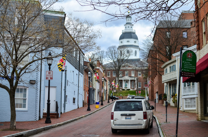 10) So, is Baltimore the capital?
