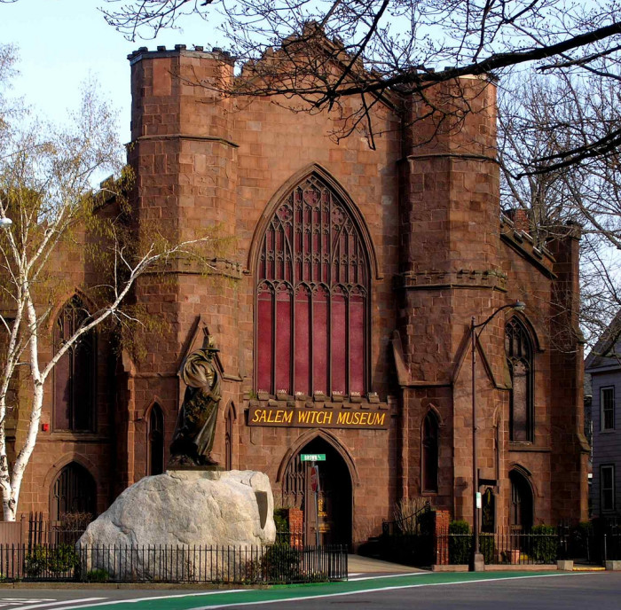 7. The Salem Witch Museum