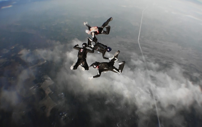6. Jump from a plane.