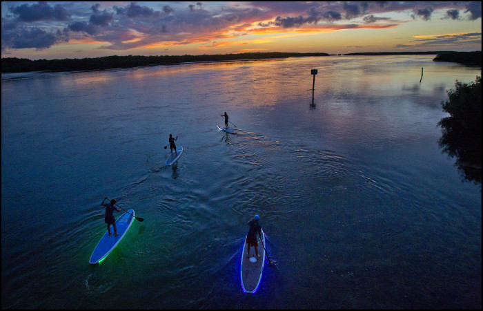 10. Why not try Paddleboarding?
