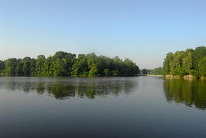 9. Sardis Lake (Lafayette, Panola, and Marshall Counties)