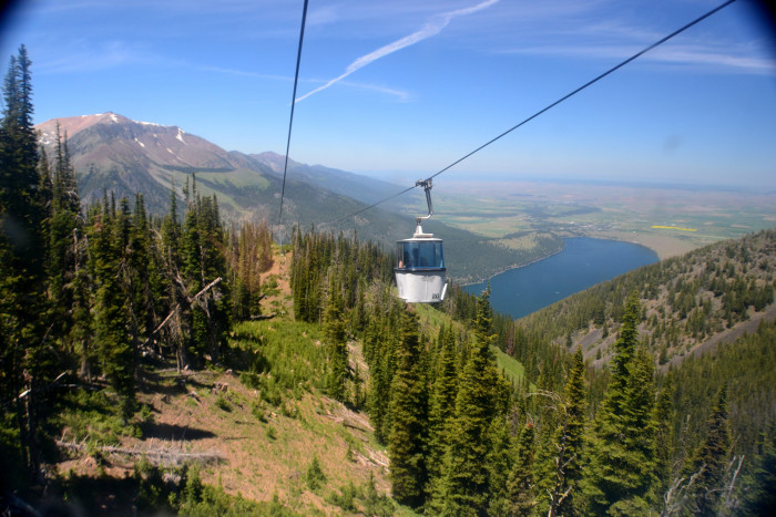 6. See the Wallowas from above on the Wallowa Lake Tramway.