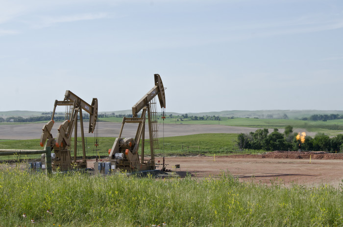 2. Everyone turned their heads towards North Dakota for the oil boom.