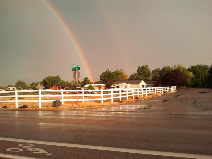 3. Double Rainbows