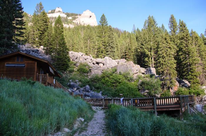 8. Granite Hot Springs
