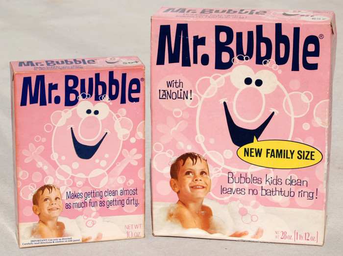 3. Mr. Bubble