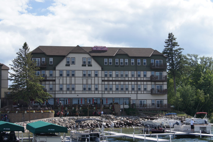 6. Its location is also adjacent to many of Minnesota's favorite lakeside resorts.