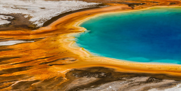 Wyoming: Grand Prismatic Spring, Yellowstone National Park