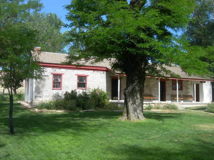 4. The Fielding Garr Ranch House was originally occupied by a war veteran with nine children.