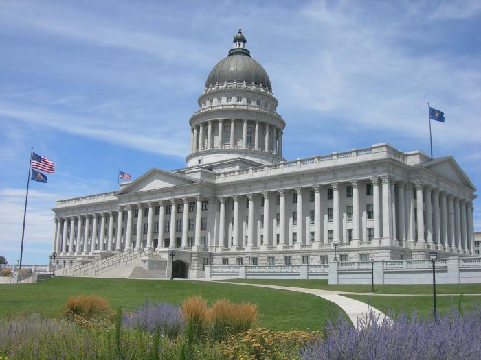 12. Utah State Capitol