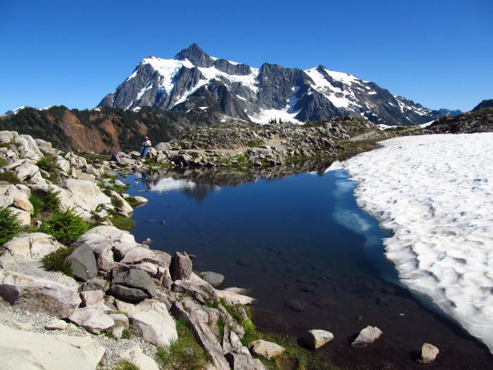 3. Artist Point near Mount Baker is truly a masterpiece.