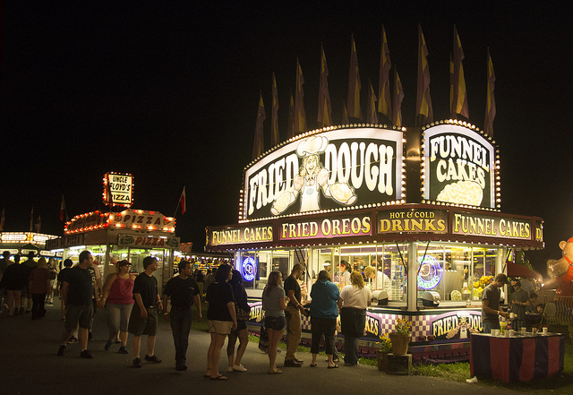 14. County fairs can be  blast with friends or family; pictured here is the Kutztown County Fair.