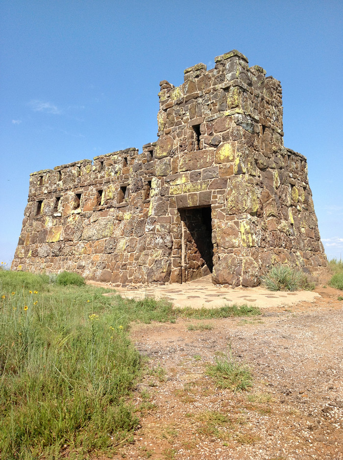 1. The magnificent Coronado Heights is said have been built by the Works Progress Administration in the 1930's to mark the spot where Francisco Vásquez de Coronado gave up his search for the seven cities of gold and returned  to Mexico.