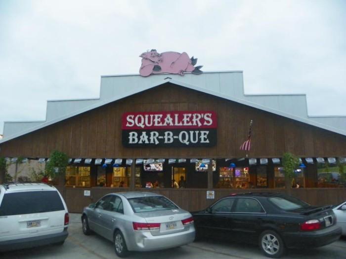 9. Squealer's Bar-B-Que, Meridian