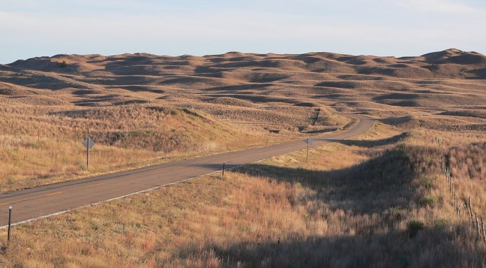 9. The Sandhills, north central Nebraska