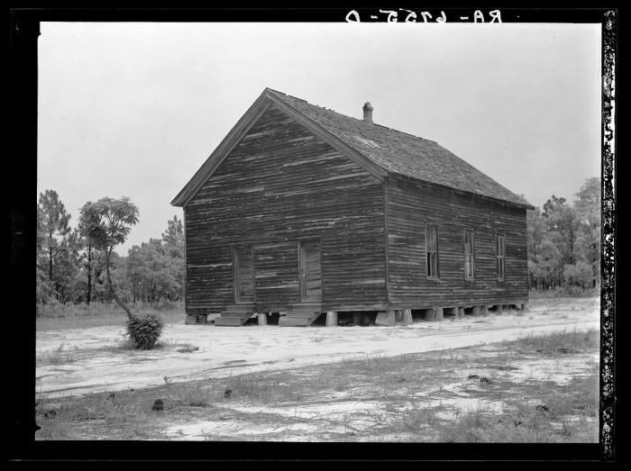 11. A church near Cheraw. 1936.